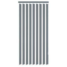 Jaluzele verticale din material textil, 150 x 180 cm, gri