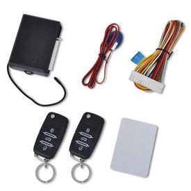 Kit închidere centralizată auto cu 2 telecomenzi chei VW Skoda Audi