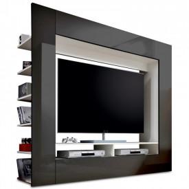 Mobilier pentru TV PAL melaminat negru GL MEDI TV
