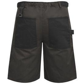 Pantaloni scurți de lucru pentru bărbați, mărime L, gri