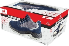 Pantofi Protectie Talpa Injectata PU Piele Intoarsa ETP - 43 - 674311