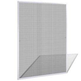 Plasă albă pentru ferestre împotriva insectelor 120 x 140 cm