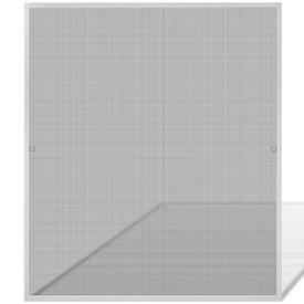 Plasă albă pentru ferestre împotriva insectelor 130 x 150 cm
