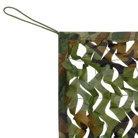 Plasă de camuflaj cu geantă de depozitare, 1,5 x 3 m