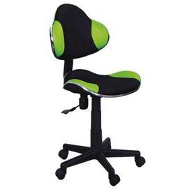 Scaun birou copii mesh SL QG2 verde - negru