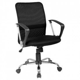 Scaun birou mesh SL Q078 negru