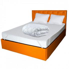 Set Saltea Pegas Comfort Flex 160x200 plus 2 perne plus Husa hipoalergenica plus Pilota iarna microfibra 180x200