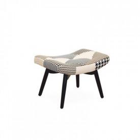 Suport pentru picioare de design material patchwork GL PEPITO TIPUL 5