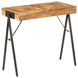 vidaXL Masă consolă, 80 x 40 x 75 cm, lemn masiv de mango