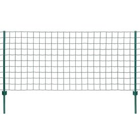 vidaXL Set de gard Euro, 20 x 1 m, oțel, verde