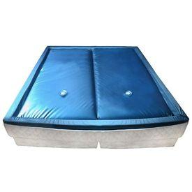 vidaXL Set saltea pat cu apă cu căptușeală și separator 160x200 cm F3