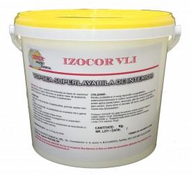 Vopsea lavabila de interior IZOCOR VLI, 25 kg