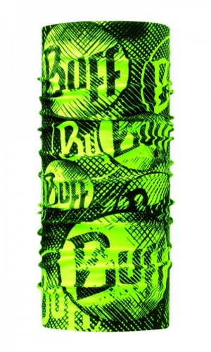 Bandana Original Buff New LOG US YELLOW FLUOR - 117948.117.10.00