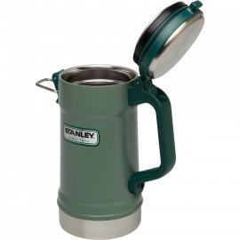 Cana Stanley Classic Vacuum Stein, 0.7L Hammertone Green - 10-02114-002