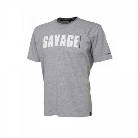 Tricou Savage Gear Simply, Light Grey
