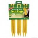 Cuie cort din plastic ABS Coghlans Tent Pegs 30.5cm set 6 buc - C9312