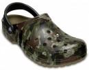 Papuci Crocs Classic Camo Clog Khaki