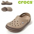 Papuci Crocs Crocband Kaki / Espresso
