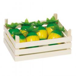 Ananas din lemn in ladita - Goki