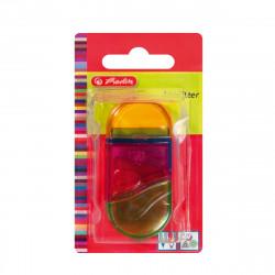 Ascutitoare + radiera Plastic Ovala 2 In 1, Herlitz