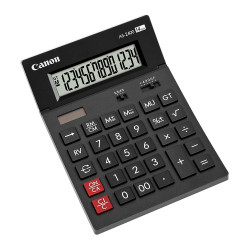 """Calculator de birou CANON, AS-2400, ecran 14 digiti, alimentare solara si baterie, negru,""""BE4585B001AA"""""""