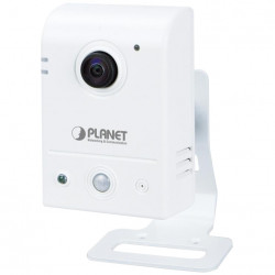 "Camera IP Planet ICA-W8100, Wireless, 1.3MP (HD 720P), Cube Fish-Eye 180""; Panoramic"