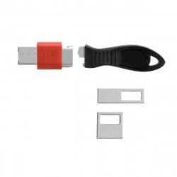 """CONECTOR securitate KENSINGTON pt. portul USB, previne transferul de date neautorizat prin porturi USB, """"K67913WW"""""""
