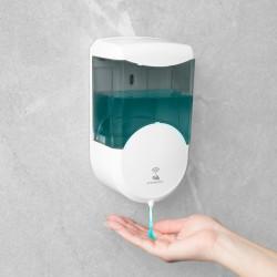 Dozator automat de săpun lichid VOG und Arths - 600 ml - stand alone - cu baterie, fumuriu
