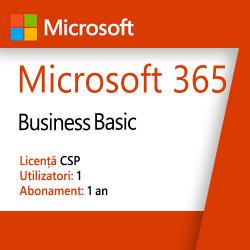 Microsoft 365, Business Basic, Licenta CSP, 5 dispozitive