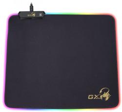 "Mouse PAD GENIUS, ""GX-Pad 300S RGB"", gaming , cu led, cauciuc si material textil, 320 x 270 x 3 mm, negru , iluminat RGB, ""31250005400"""