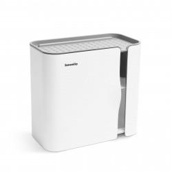 Bewello - Suport pentru hârtie igienică - alb - 248 x 130 x 230 mm