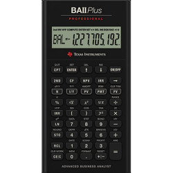 Calculator financiar Texas Intruments BAII Plus Professional