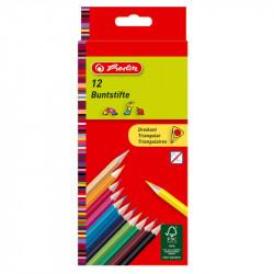 Creioane color triunghiular 1/1 set 12