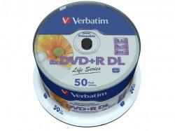 Verbatim DVD+R DOUBLE LAYER 8,5GB 8X PRINTABLE Sp 50