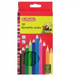 Creioane color Jumbo 10 culori