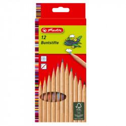 Creioane color natur 1/1 set 12