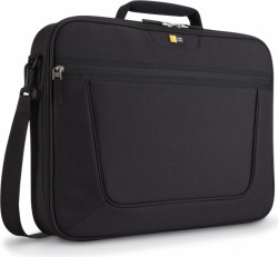 "GEANTA CASE LOGIC, pt. notebook de max. 17 inch, 1 compartiment, buzunar frontal, waterproof, poliester, negru, ""VNCI-217 BLACK"""