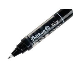 Roller Pelikan Inky, varf de 0.5 mm, negru