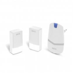 Sonerie digitala fara fir si fara baterie, cu 2 unitati de exterior - Kinetic,