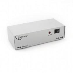 """SPLITTER video GEMBIRD, split 2 monitoare la 1 PC, conector 1: VGA (M); conector 2: VGA (M) x 2, """"GVS122"""""""