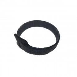 Bratara velcro pentru prindere cabluri,200x12x2mm,neagra