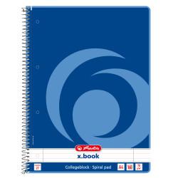 Caiet Herlitz XBook, A4, dictando, spirala, 160 file