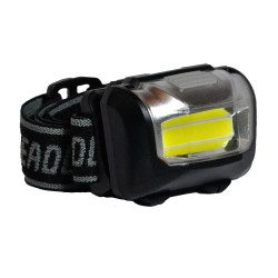 "LANTERNA LED SPACER headlamp (3W COB) high power/low power/strobe/off, battery:3 x AAA ""SP-HLAMP"""