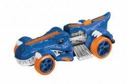 Masinuta cu l&s HW, T-Rextroyer albastru