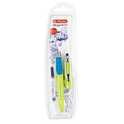 Stilou Herlitz My.Pen Lemon/Albastru, Blister