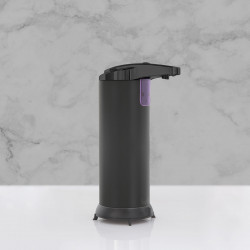 Vog und Arths - Dozator automat de săpun lichid - 220 ml- stand alone, cu baterie - negru mat