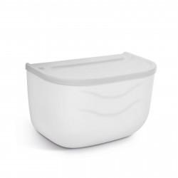 Bewello - Suport pentru hârtie igienică - alb - 210 x 135 x 135 mm