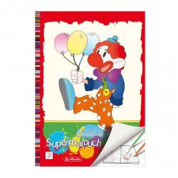 Carte de colorat Herlitz A4, 128 file