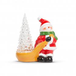 Decor de Crăciun LED RGB - om de zăpadă - 13 x 7 x 15 cm