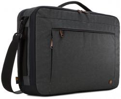 "GEANTA & RUCSAC CASE LOGIC, pt. notebook de max. 15.6 inch, 2 compartimente, buzunar frontal x 2, waterproof, poliester, negru, ""ERACV-116 OBSIDIAN"""